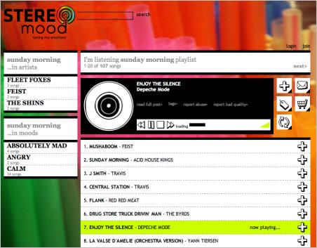 STEREOmood: escucha música en función de tu estado de ánimo Stereomood2-ed6c1